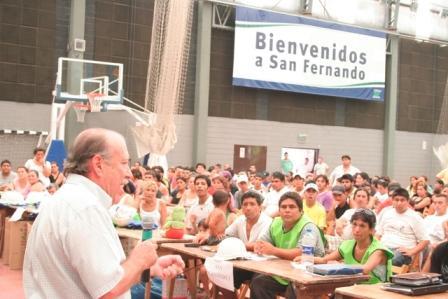 Amieiro puso en marcha el programa Argentina Trabaja