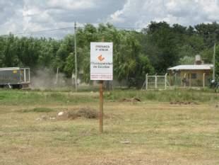 Evitan la usurpación de tierras fiscales en Escobar