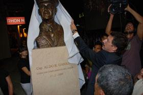 Emotivo recuerdo de la comunidad Sanisidrense a Aldo Garrido
