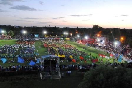 Multitudinaria Fiesta de Cierre de las Colonias de Vacaciones 2010