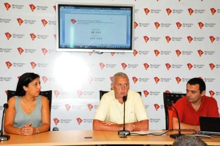 El municipio de Tigre realizó el primer sorteo mensual Si Cumplís, Ganás