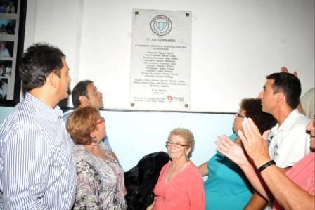 El Club Peñarol del Delta celebró sus 77 años de existencia.