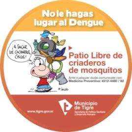 Continúan los trabajos de prevención del Dengue.