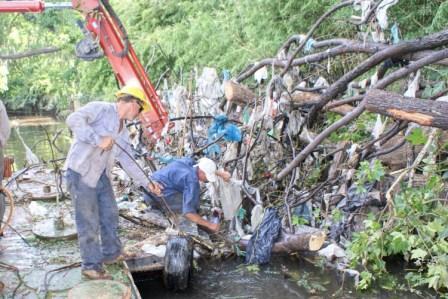 El Municipio trabaja por un río Tigre más limpio y seguro.