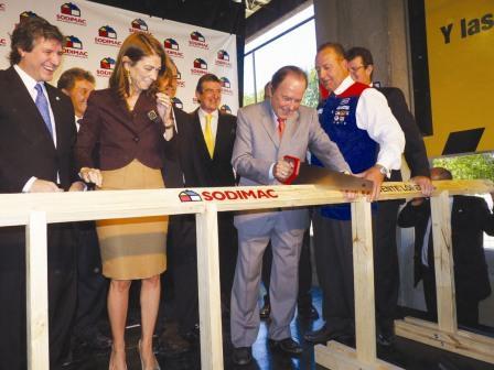 Sodimac inauguró en Vicente López  su quinto homecenter en el país