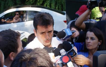 El intendente de Tigre Sergio Massa