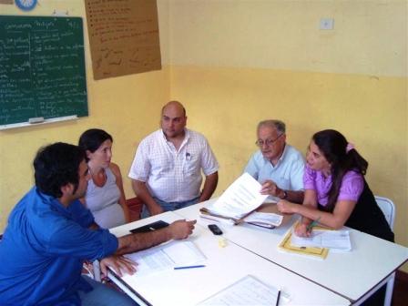 Concejales Radicales se reunieron con comisión de educación del programa de habitantes a ciudadanos