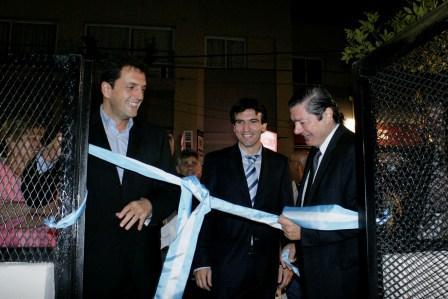 Massa inauguró la Fiscalía de Tigre Centro / Rincón de Milberg