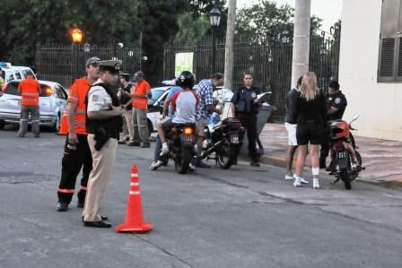 Tigre realizó durante el fin de semana operativos de control de tránsito y concientización