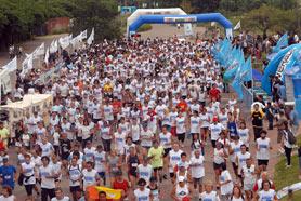2.500 personas participaron de la Carrera de Miguel