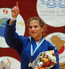 Paula Pareto ganó la medalla de oro en judo en los juegos Odesur