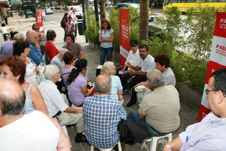 Un intenso y productivo encuentro reunió a un nutrido grupo de vecinos de Beccar junto al concejal Pablo Chamatrópulos