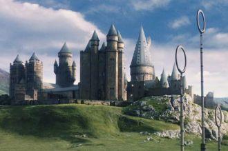 Se incendió Hogwarts, el famoso castillo de Harry Potter