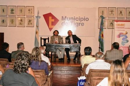 Se realizó una audiencia abierta en la cual participó el secretario de Protección Ciudadana, Lic. Diego Santillán, junto a otros funcionarios y vecinos del Delta