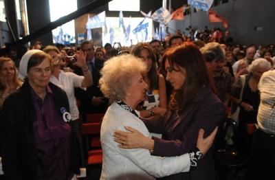 Cristina Fernández encabezó el acto por el Día Nacional de la Memoria, la Verdad y la Justicia