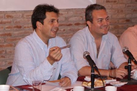 Sergio Massa y su par de Bahía Blanca realizaron una reunión intermunicipal de gabinetes