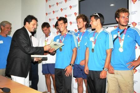Tigre agasajó a los ganadores de los juegos ODESUR