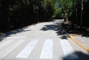 Se inauguró un nuevo tramo de repavimentación en la calle Capitán Juan de San Martín, en La Horqueta