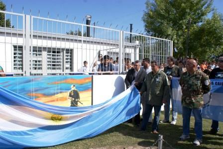Se recordó el 2 de abril en Troncos del Talar