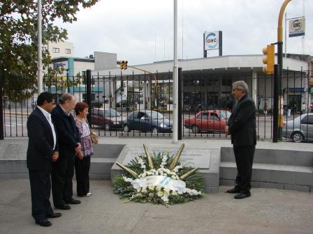 Estuvieron presentes: el Intendente Osvaldo Amieiro, el Presidente del Concejo Deliberante Dr. Diego Herrera
