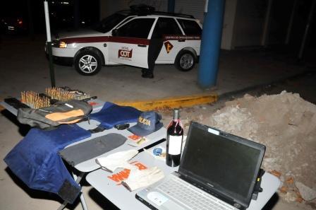 Gracias a un control vehicular en General Pacheco, fueron detenidos dos delincuentes fuertemente armados