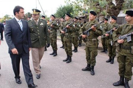 Homenaje al Soldado Juan Domingo Horisberger.