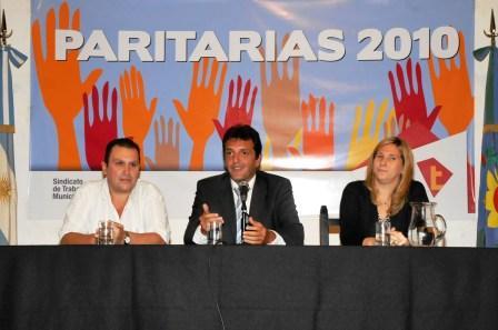 Tigre anunció el resultado de sus paritarias municipales 2010