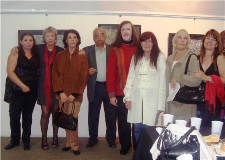 Se inauguró nueva muestra artística en la Fundación Crecer con Todos