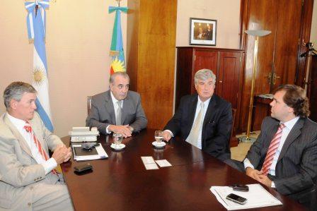 Ministros de Scioli mantuvieron la primera reunión de gestión con Altieri