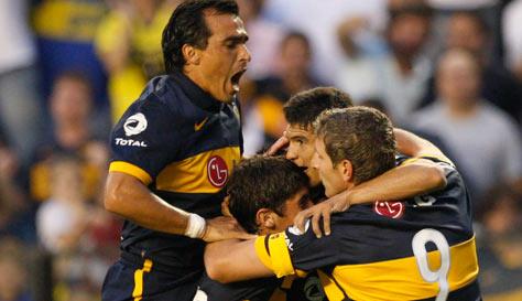 Palermo llego al record, Riquelme brillo y Boca volvió a ser Boca en el debut de Pompei