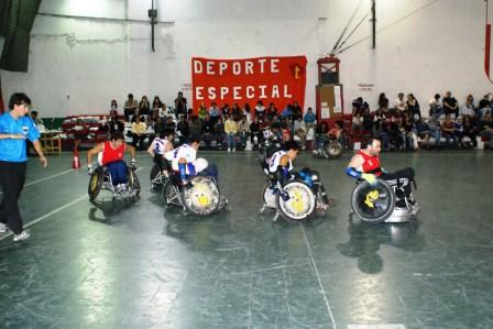 arrancó la temporada 2010 de Quad Rugby en el Club Glorias