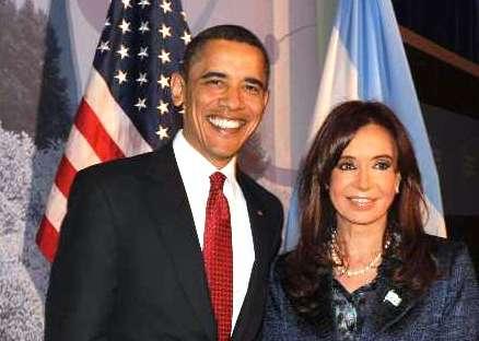 Cristina Fernández se reunió con Obama
