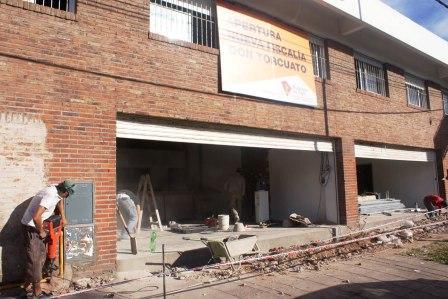 Avanzan las obras de la nueva Fiscalía y Comisaría de Don Torcuato