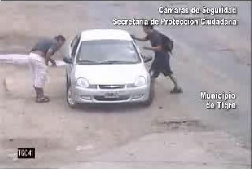 Las cámaras atraparon delincuente pero un fiscal dice que no hay delito