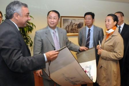 Visita de funcionarios Chinos en busca de inversiones en Tigre