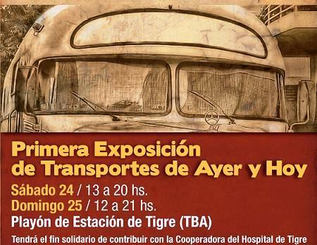 Primera Exposición de Transportes de Ayer y Hoy