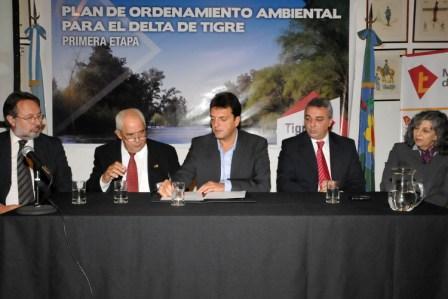 Tigre presentó el Plan de Ordenamiento Ambiental para el Delta
