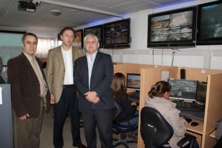 Autoridades de Chivilcoy visitaron el Centro de Operaciones Tigre