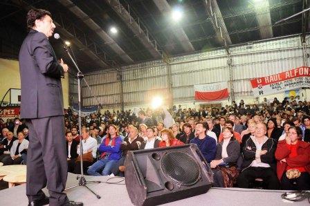 Multitudinario acto de Unidad Radical en Tigre