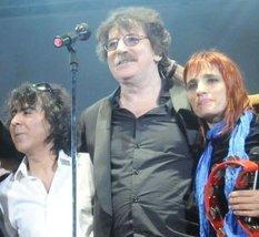 Serú Girán volvió a reunirse en el último recital de Charly en el Luna Park