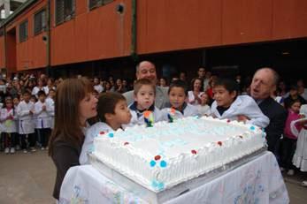 La escuela N° 15 de Boulogne celebró sus bodas de oro
