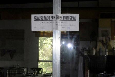 Inspección y clausura en el complejo del ACA en el Delta de Tigre