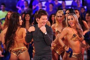 Pettinato está enojado porque Tinelli usó su idea de hacer bailar a Suar en cámara