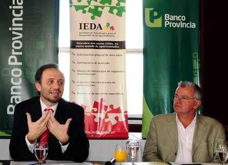 Vicepresidente del Banco Provincia elogió Programa Federal de desendeudamiento