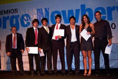 Premio Jorge Newbery para deportistas de Tigre