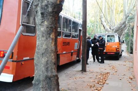 Operativos de control de transporte escolar en Tigre