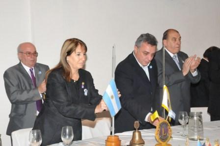 El Club de Leones de Tigre festejó su 45 aniversario