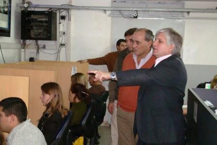 Autoridades de General Viamonte visitaron el Centro de Operaciones Tigre