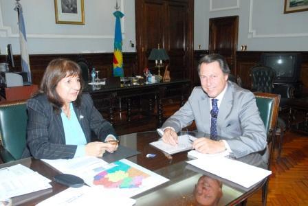 La Procuradora Falbo y el Ministro Casal acuerdan acciones conjuntas en seguridad y justicia