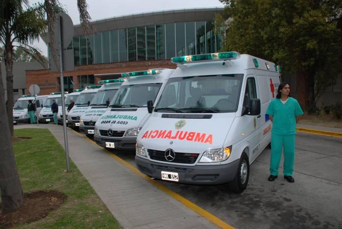 Presentaron las nuevas ambulancias del sistema municipal de emergencias de San Isidro